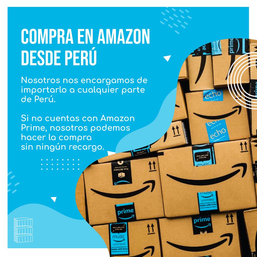 COMPRA EN AMAZON DESDE PERU