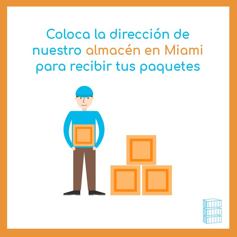 Almacén en Miami para productos a Perú